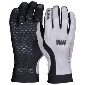 Wowow Dark 3.0 Rękawiczka rowerowa odblaskowe szary/czarny